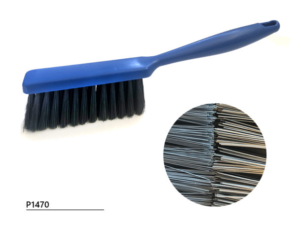 Hand brush with detectable filament