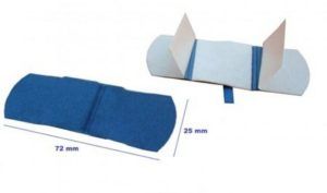X-RAY Detectable plasters 7,2X2,5CM