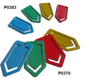 Detectable paper clips