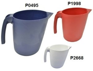 Detectable pouring jug