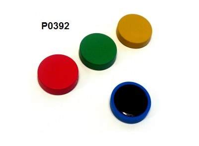 Detectable whiteboard magnets