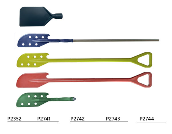 Detectable mixing paddles