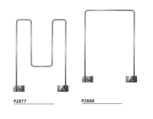 Stainless steel hanger for bucket