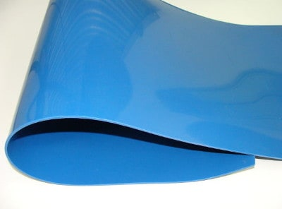 Detectable rubber sheet
