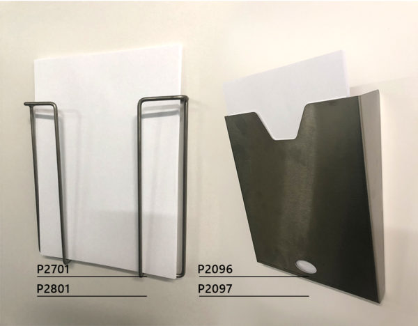 Stainless steel document holder